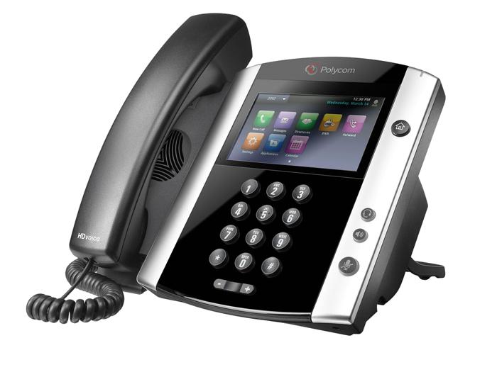 Polycom VVX600 VoIP Phone