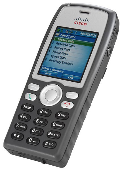 Cisco Unified Wireless IP Phone 7925G (CP-7925G-A-K9)