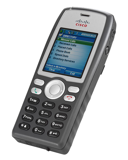Cisco Unified Wireless IP Phone 7925G - European