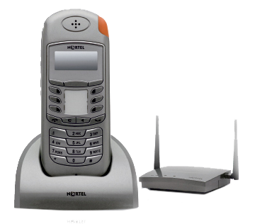 Nortel T7406E Cordless Handset with Base Station (NT8B45AAAP)