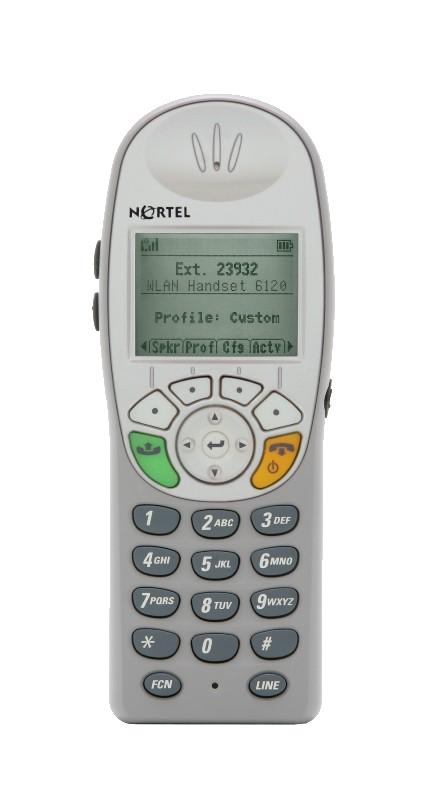 Nortel WLAN 6120 DECT Phone (NTTQ4045E6)