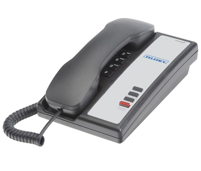 Teledex Nugget series Hospitality Phones black - Ghekko
