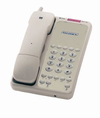 Teledex Opal Series Analog Cordless Hospitality Phones