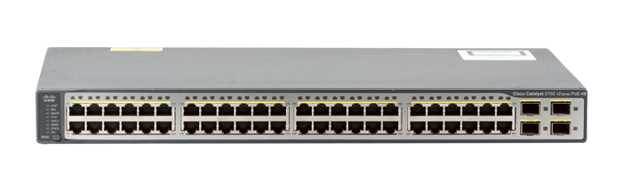 Cisco Catalyst WS C3750V2 48PS S