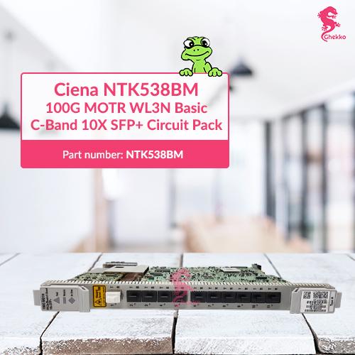 Ghekko provide Ciena NTK538BM C-band