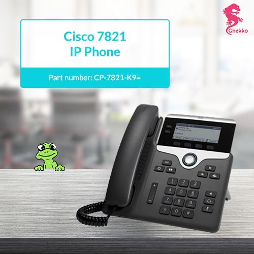 Cisco IP Phone 7821 new