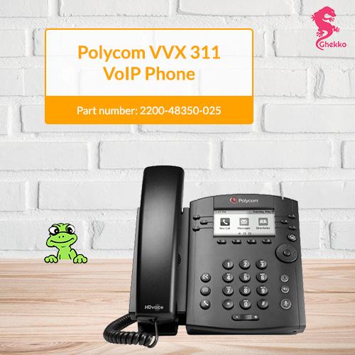 Polycom VVX 311 VoIP Phone