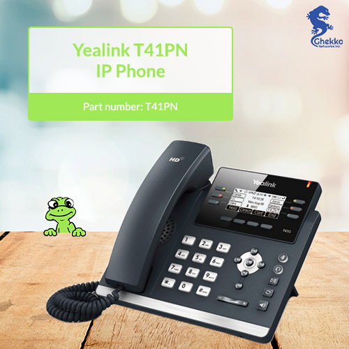 supplier of Yealink T41PN SIP Phone with PoE